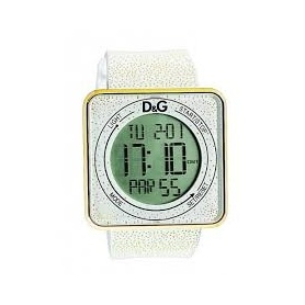 D&G digital white silicone watch - DW0783