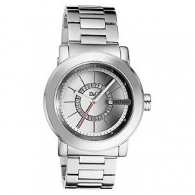 D&G man Central Park watch steel - DW0723