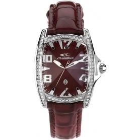 Chronotech Uhrenfrau Prisma Bordeaux - CT.7988LS / 64