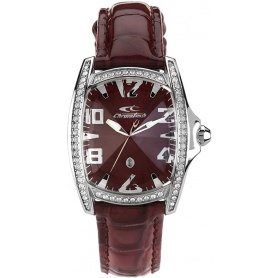 Chronotech watch woman Prisma Bordeaux - CT.7988LS / 64