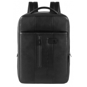 Piquadro Urban black slim laptop backpack - CA4840UB00 / N