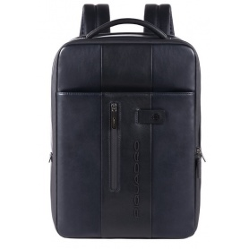 Slim PC backpack Piquadro Urban blue - CA4840UB00 / BLU