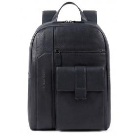 Piquadro Kobe blue laptop backpack - CA4943S105 / BLU