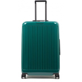 Trolley medium Piquadro rigid Seeker green - BV5028SK / VE