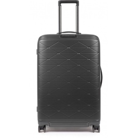 Medium trolley Piquadro rigid PiQ Biz black - BV4427BIZ / N