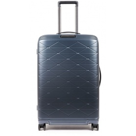 Medium trolley Piquadro rigid PiQ Biz blue - BV4427BIZ / BLU