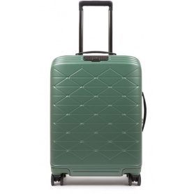 Cabin trolley Piquadro rigid ultraslim PiQ Biz green BV4425BIZBM / T / VE