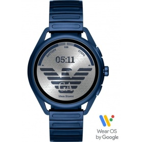 Emporio Armani Smartwatch3 watch matt blue - ART5028