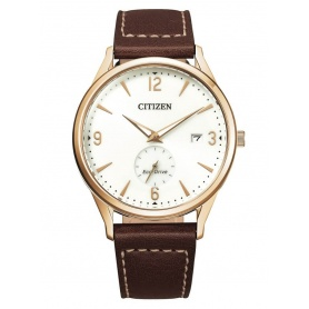 Citizen Small Seconds Solaruhr braunes Leder - BV1116-12A