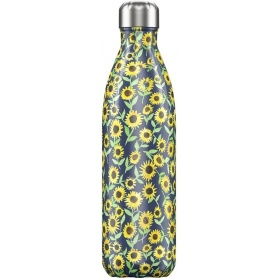 Chilly's Bottle Floral Sunflower 750ml - 5056243500864