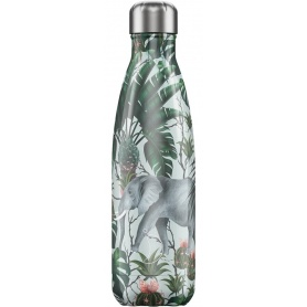 Chilly's Bottle Tropical Elephant 500ml - 5056243500581
