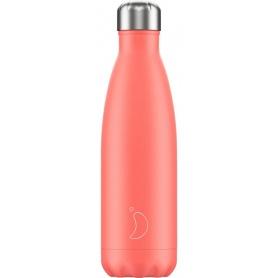 Chilly's Bottle Pastel Coral da 500ml - 5056243500437