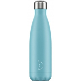 500ml Chilly's Bottle Pastel Blue - 5056243500420