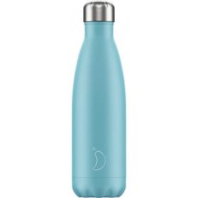 500ml Chilly's Bottle Pastel Blue - 5056243500420