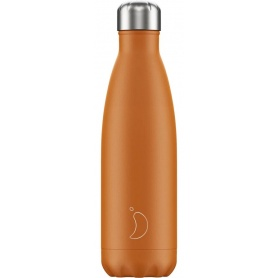 500ml Chilly's Bottle Orange Matte - 5056243500109