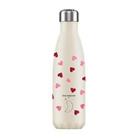 500ml Chilly's Bottle Emma Bridgewater Pink Heart - 5056243501083