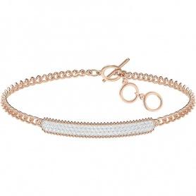 Bracelet woman jewelery Swarovski Locket rosè - 5367822
