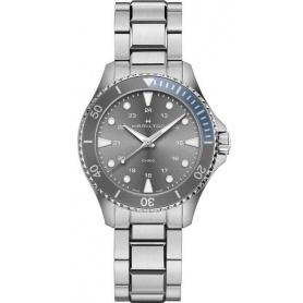 Khaki Navy Scuba Quartz Gray Watches - H82211181