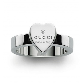 Gucci ring with silver heart - YBC223867001014