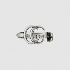 Gucci women's ring with double G