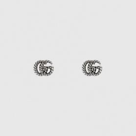 Orecchini Gucci donna doppia G