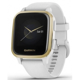Garmin Venu SQ Smartwatch - Golden White