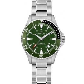 Orologio Hamilton Khaki Navy Scuba Automatico verde H82375161