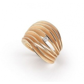 Annamaria Cammilli Dune Velaa Ring in Orange Gold GAN3151J