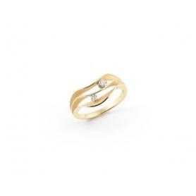 Anello Annamaria Cammilli Dune Atolli in oro giallo sunrice - GAN3086U