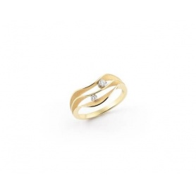 Annamaria Cammilli Dune Atolli ring in sunrice yellow gold - GAN3086U