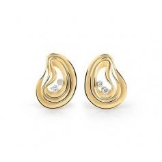 Annamaria Cammilli Dune Atolli earrings in sunrice yellow gold - GOR3085U