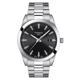 Tissot men's watch Gentlemen black quartz - T1274101105100