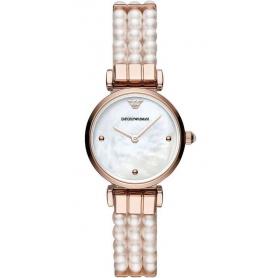 Orologio Emporio Armani donna con bracciale in perle - AR11317