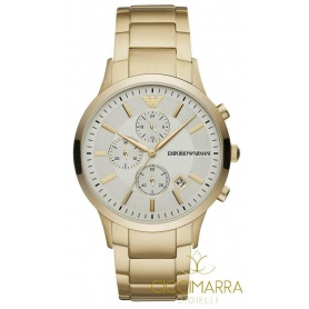 Emporio Armani Watches Renato chrono golden - AR11332