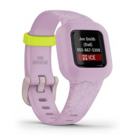 Garmin Vivofit Jr3 Lilac Floral Watch 0100244101