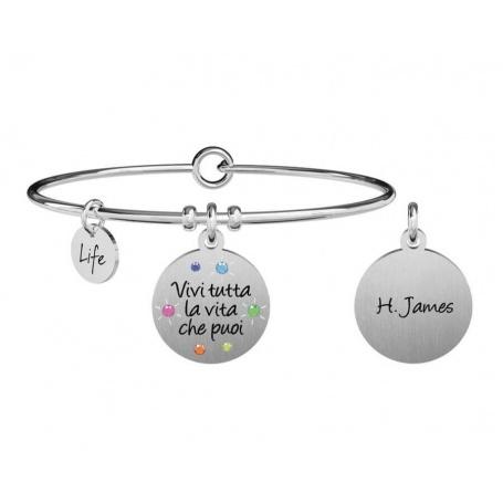 Kidult Philosophy bracelet live all your life ... h. james 731877