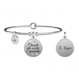Kidult Philosophy bracelet close your eyes ... j. joyce 731876