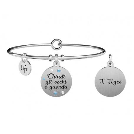 Kidult Philosophy bracelet close your eyes ... j. joyce 731876