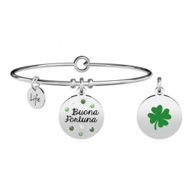 Kidult Nature bracelet four leaf clover - good luck 731875