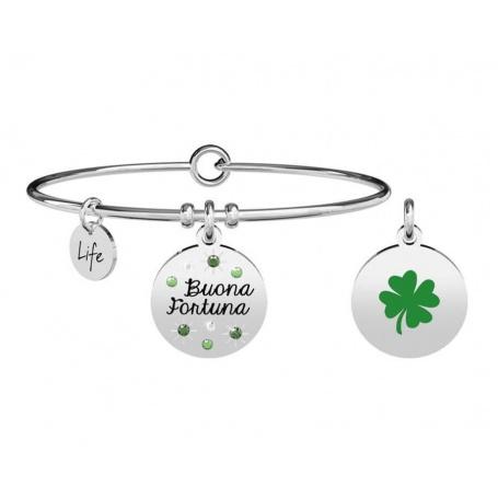 Kidult Nature bracelet four leaf clover - good luck 731875