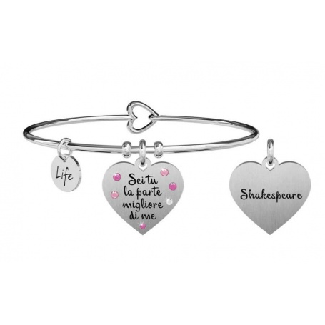 Kidult Love bracelet you are the part ... shakespeare 731874