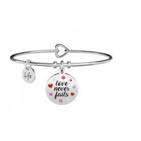 Kidult Love love never fails bracelet 731873