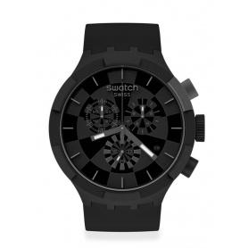 Orologio Swatch Big Bold Chrono checkpoint black SB02B400