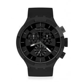 Swatch Big Bold Chrono checkpoint black SB02B400 watch