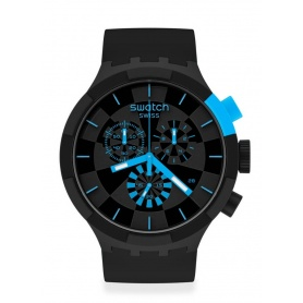 Swatch Big Bold Chrono checkpoint blue SB02B401