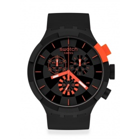 Swatch Big Bold Chrono checkpoint red SB02B402