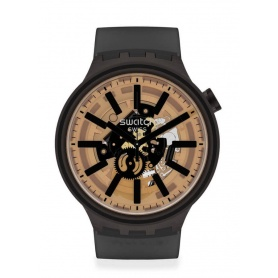 Swatch Big Bold Standard dark taste watch SO27B115