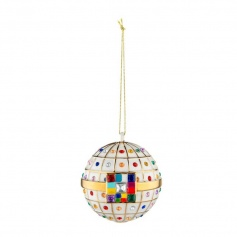 Christmas tree decoration ball Alessi engagement ball