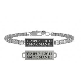 Kidult Love bracelet tempus fugit amor manet 731807