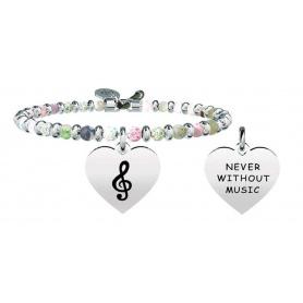 Kidult Free Time treble clef bracelet, harmony 731863